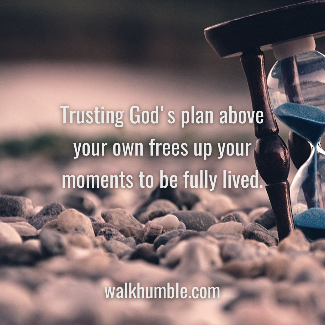 Your Plan for You vs. God's Plan for You