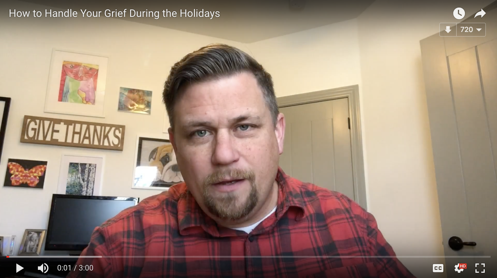 What to Do with Your Grief During the Holidays